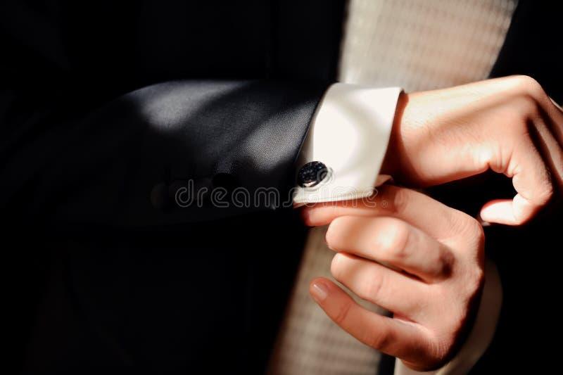 Mężczyzna ubierający fotografia stock