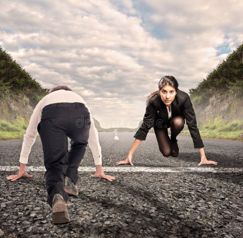 mężczyzna versus kobieta zdjęcie royalty free