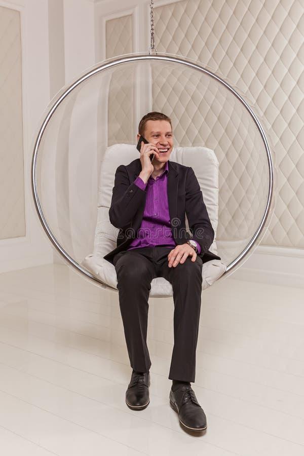 Mężczyzna w kostiumu zdjęcie royalty free