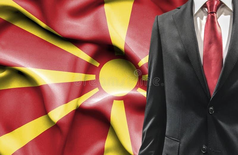 Mężczyzna w kostiumu od Macedonia zdjęcie royalty free