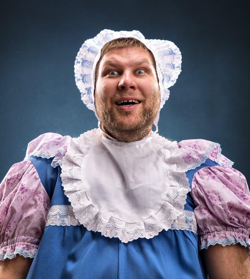 Mężczyzna weared jako dziecko obrazy royalty free