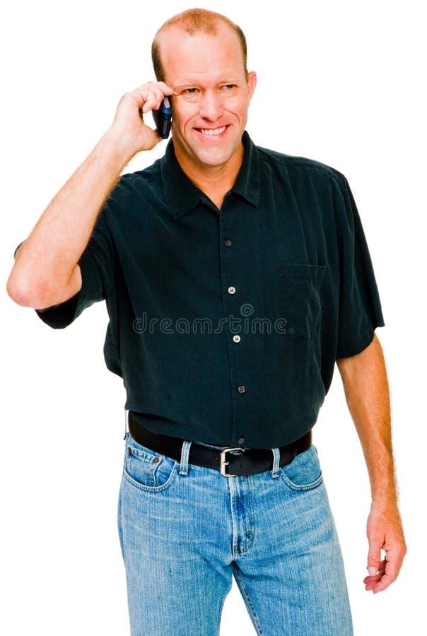 mężczyzna wiszącej ozdoby ja target430_0_ target431_0_ obrazy stock