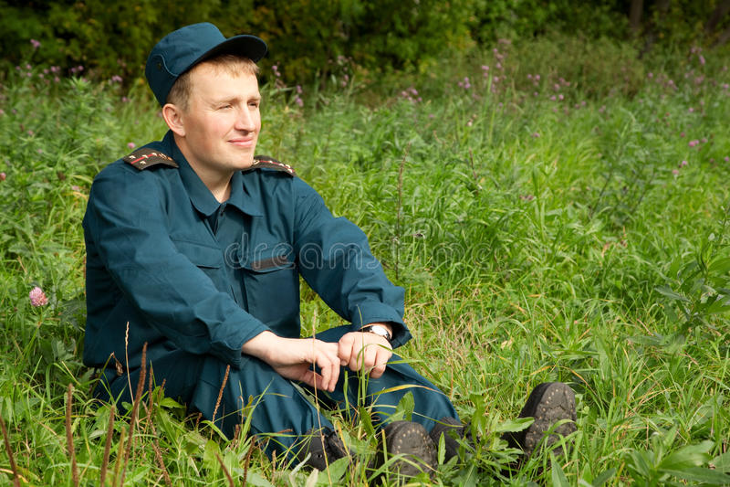 mężczyzna wojskowy obrazy stock