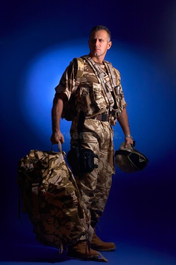 mężczyzna wojskowy uniform obraz stock