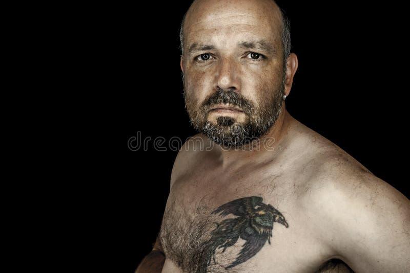 Mężczyzna z brodą zdjęcia stock