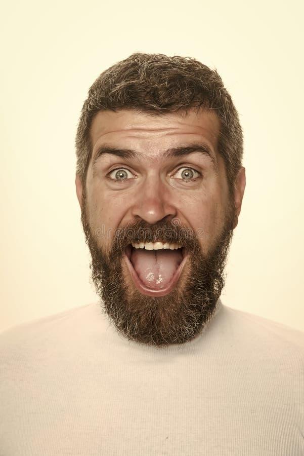 Mężczyzna z długą brodą i wąsy fotografia royalty free