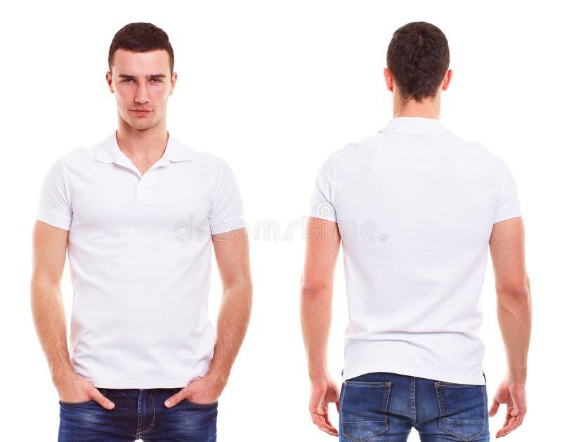 Mężczyzna z polo koszula fotografia stock