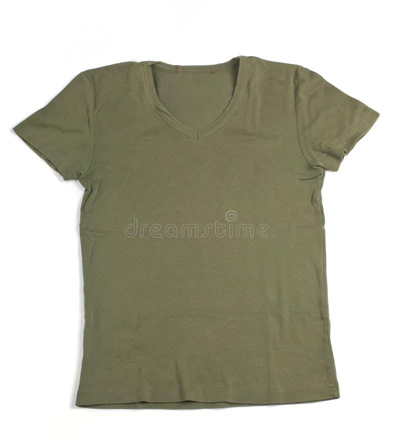 mężczyzna zielona koszula s fotografia stock
