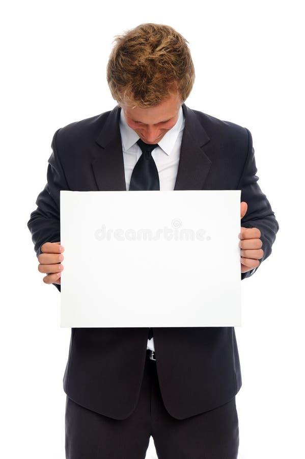 mężczyzna znak zdjęcie stock