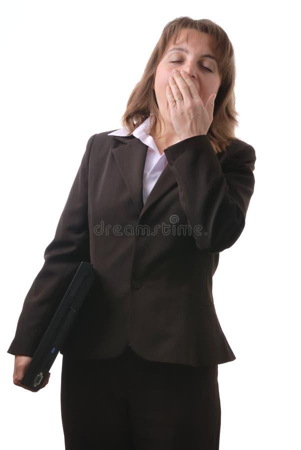 męcząca biznesowa komputerowa osoba zdjęcia stock
