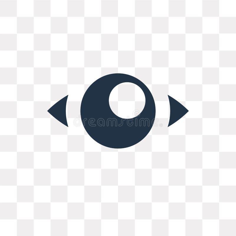 Męczy wektorową ikonę odizolowywającą na przejrzystym tle, zmęczenie ilustracji