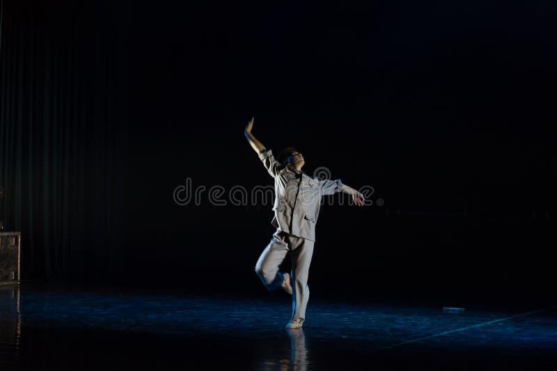 Męscy nauczyciele w republice Chiny 4--Tana dramata osioł dostaje wodnym zdjęcie stock
