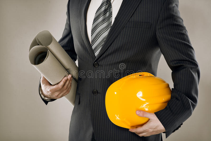 Męski inżynier zdjęcie stock