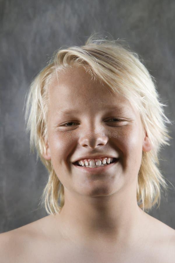 męski uśmiecha nastolatków. fotografia royalty free