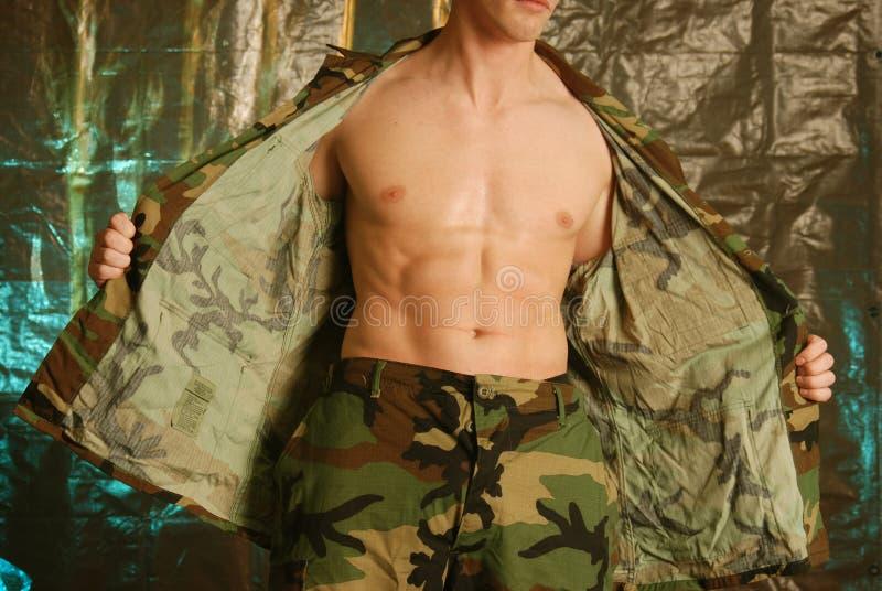 męski wojsko obrazy stock