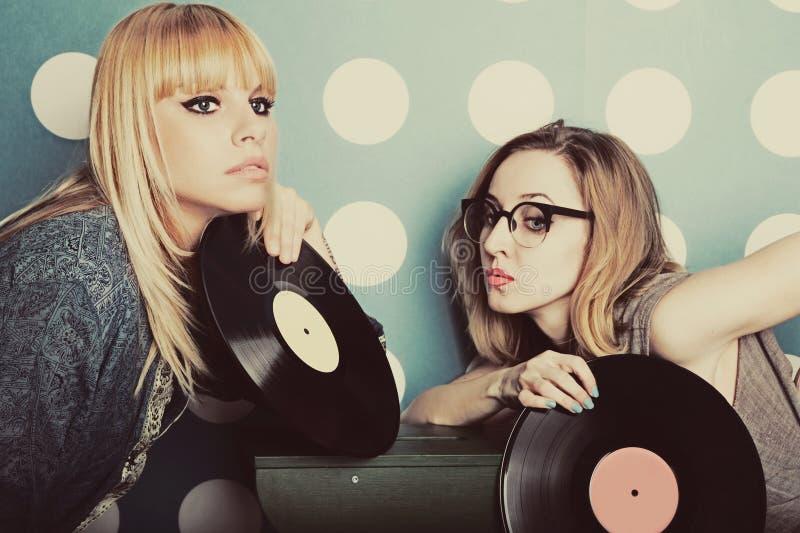 młodą dwie kobiety zdjęcia stock