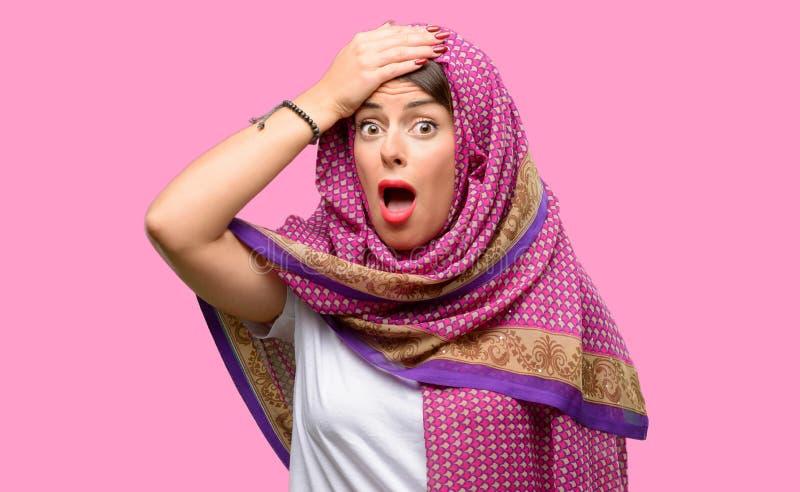 Młoda arabska kobieta obrazy stock