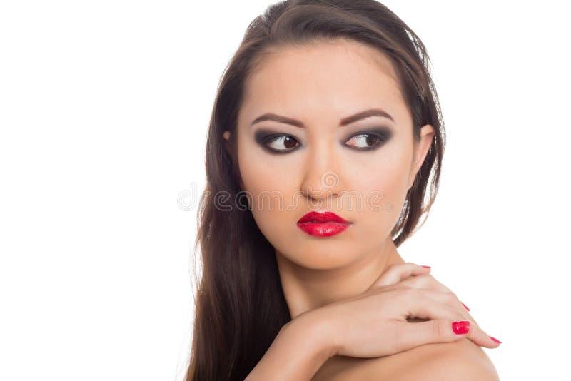 Młoda Azjatycka kobieta zdjęcie stock