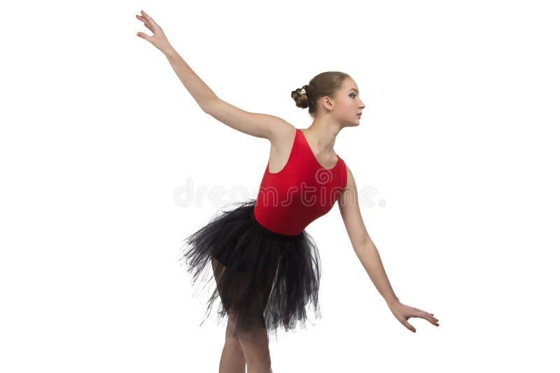 Młoda balerina w pozyci obrazy royalty free