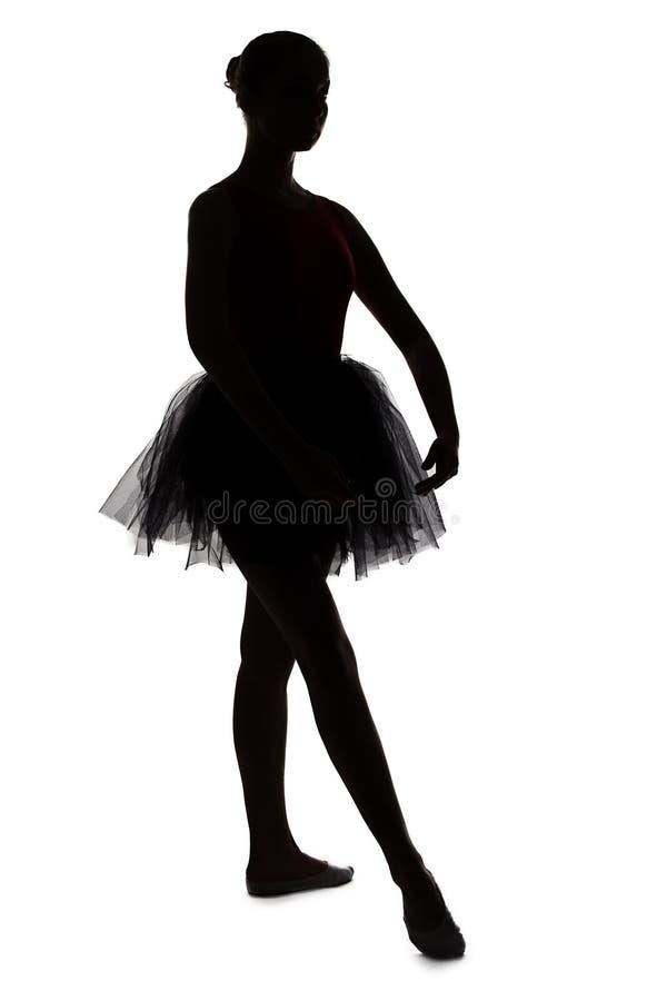 Młoda balerina w pozyci zdjęcia royalty free