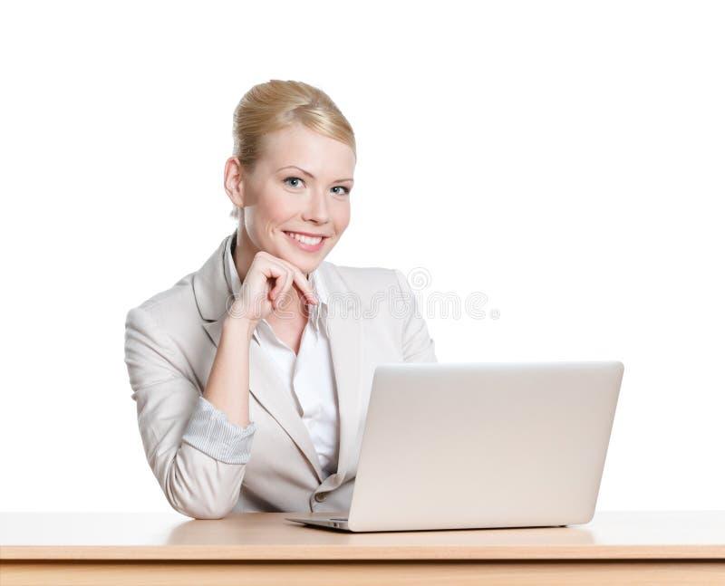 Młoda biznesowa kobieta zdjęcie stock