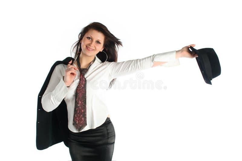 Młoda biznesowa kobieta zdjęcie royalty free