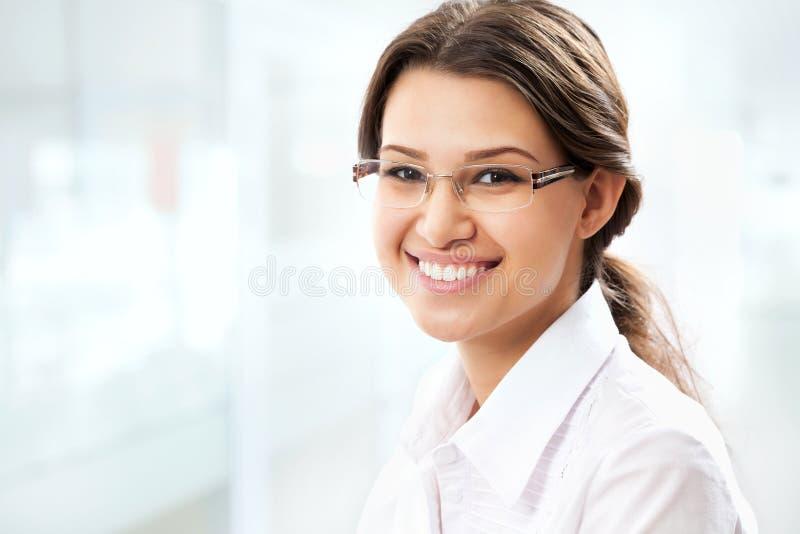Młoda biznesowa kobieta obraz royalty free