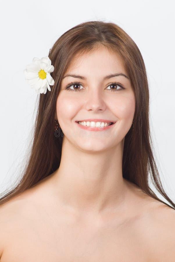 Młoda dziewczyna ładny portret obraz stock