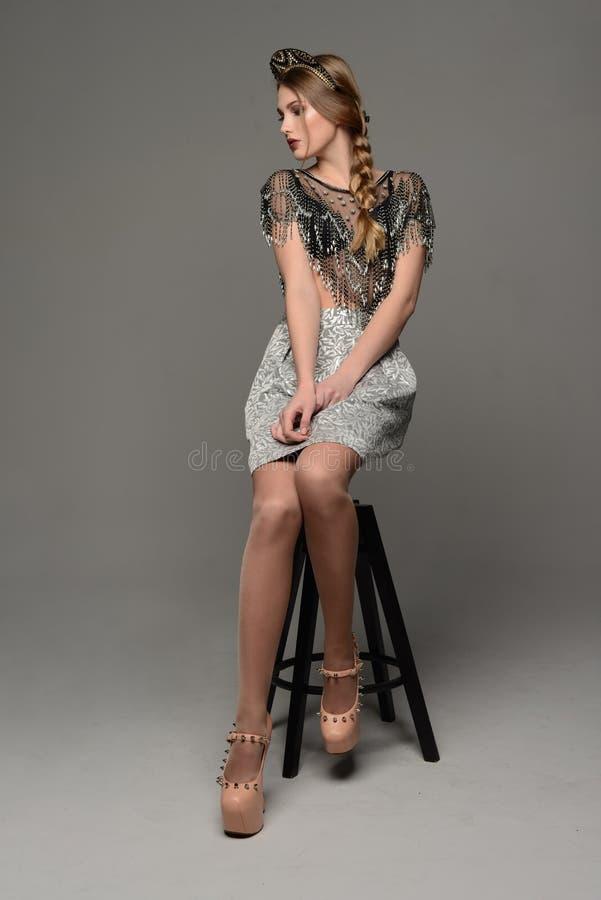 Młoda dziewczyna los angeles Rus zdjęcie stock