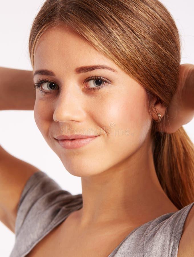 Młoda dziewczyna portret obraz stock