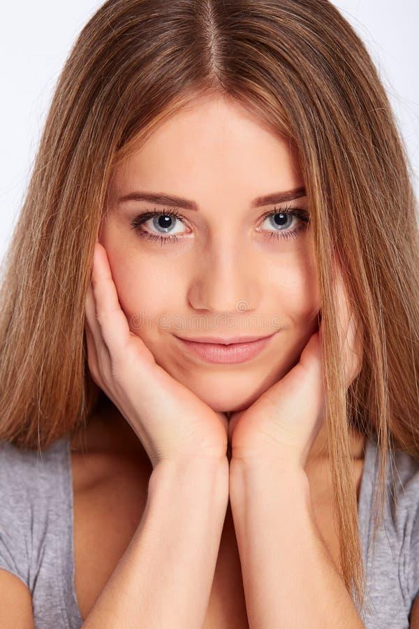 Młoda dziewczyna portret zdjęcia stock