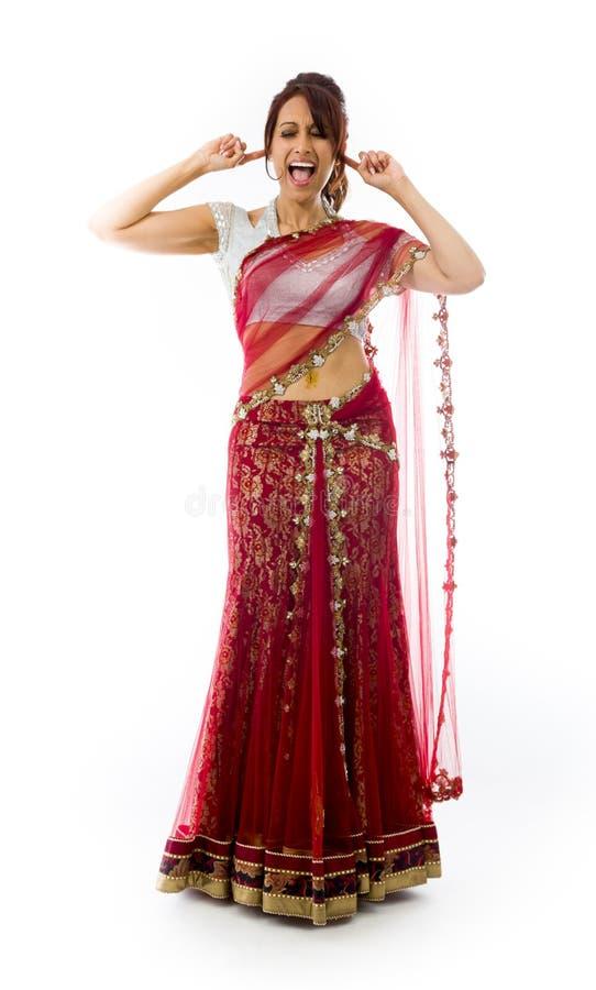 Download Młoda Indiańska Kobieta Krzyczy W Frustraci Obraz Stock - Obraz złożonej z widok, rozczarowanie: 41951715