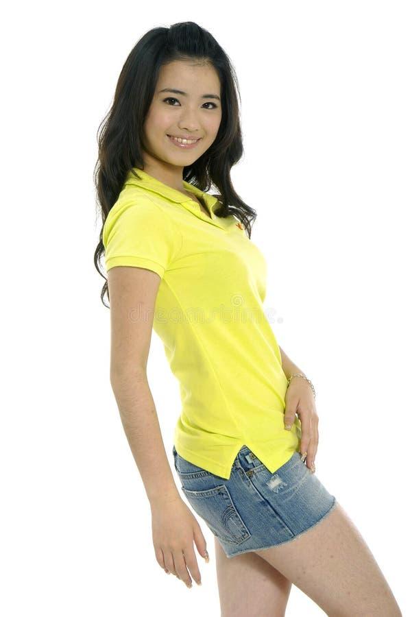 Młoda kobieta fotografia royalty free