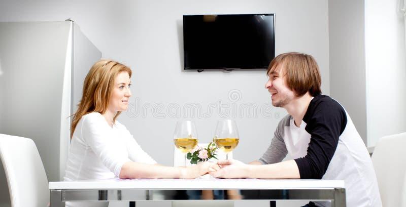 Młoda kobieta i jej mąż obrazy stock