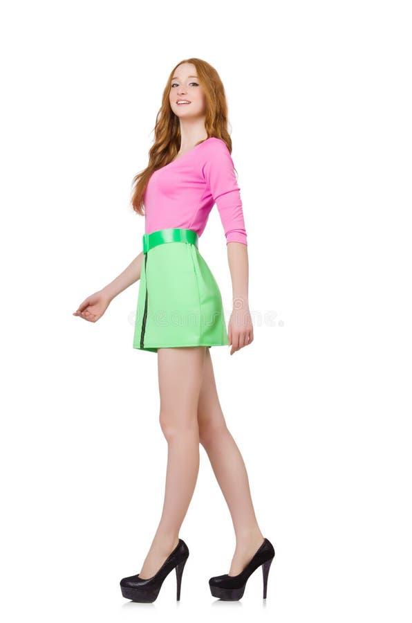 Młoda kobieta w modzie zdjęcia royalty free