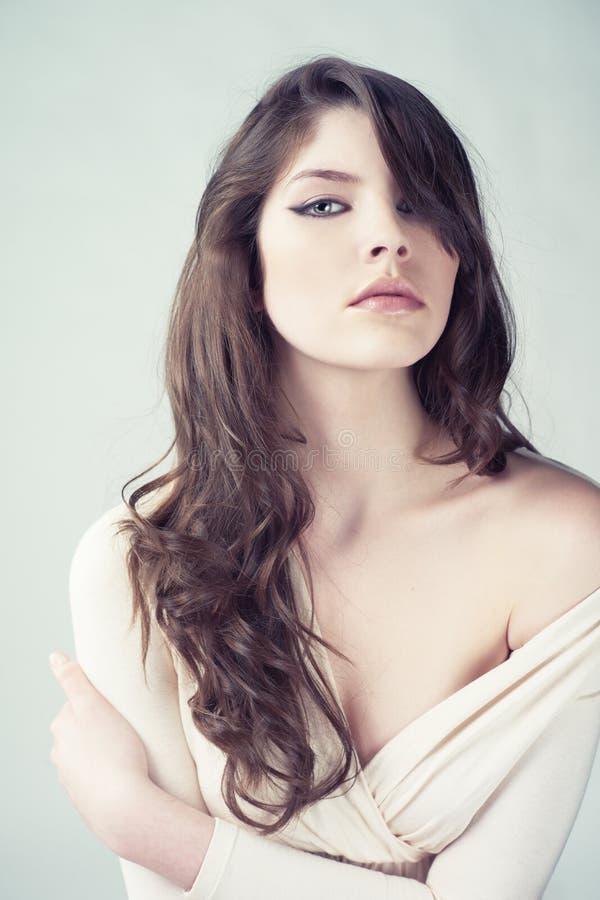 Młoda piękna dama obrazy royalty free