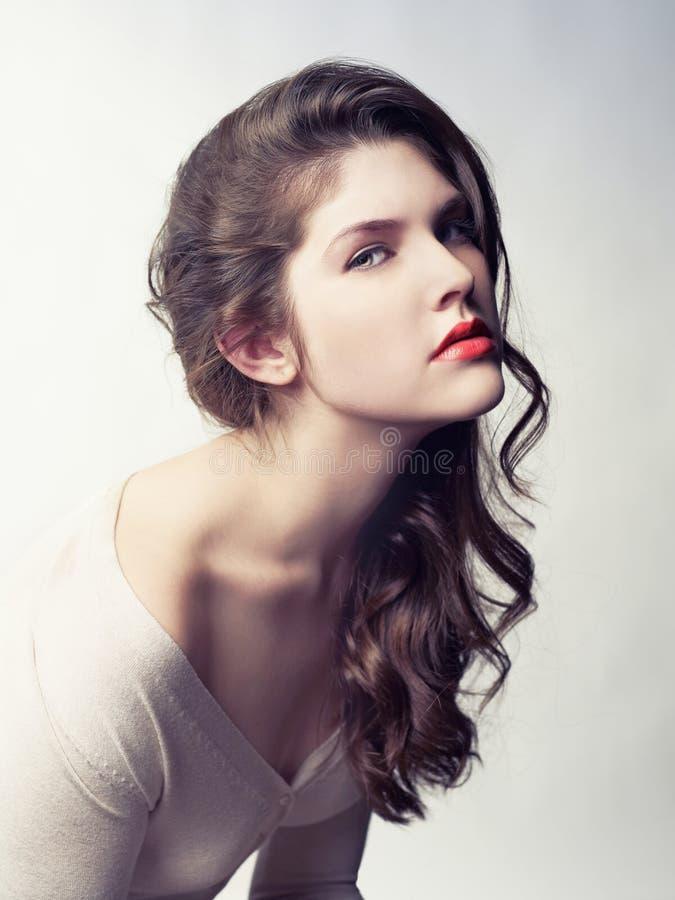 Młoda piękna dama obraz stock