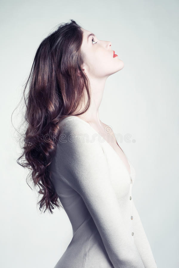 Młoda piękna dama fotografia royalty free