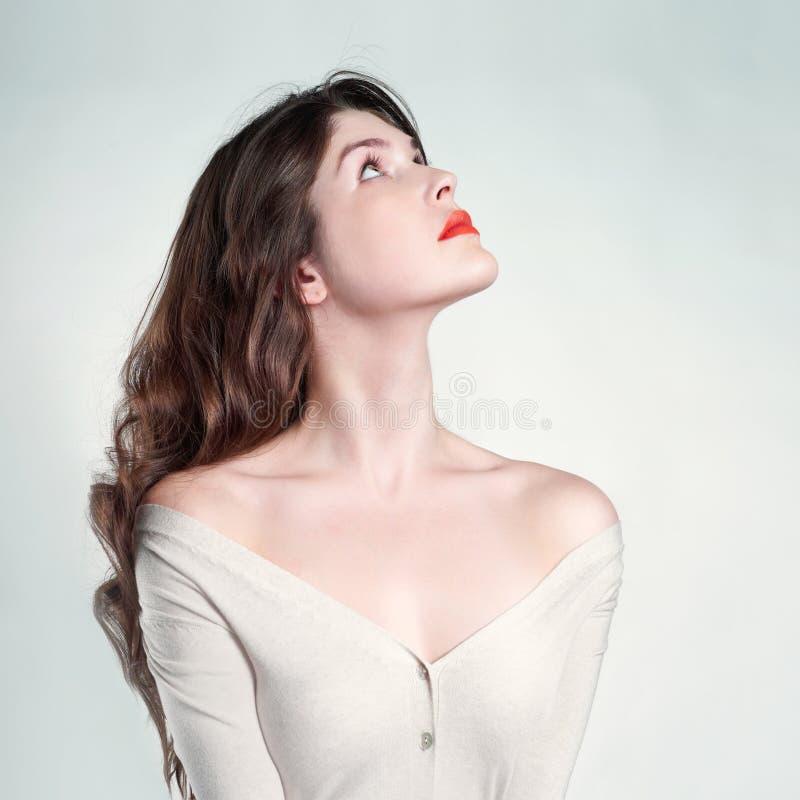 Młoda piękna dama obrazy stock