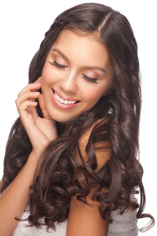 Młoda piękna zdrowa kobieta obrazy stock