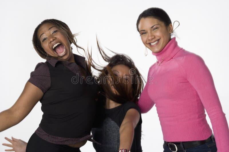 młode azjatykcie czarny latynoskie kobiety zdjęcie royalty free