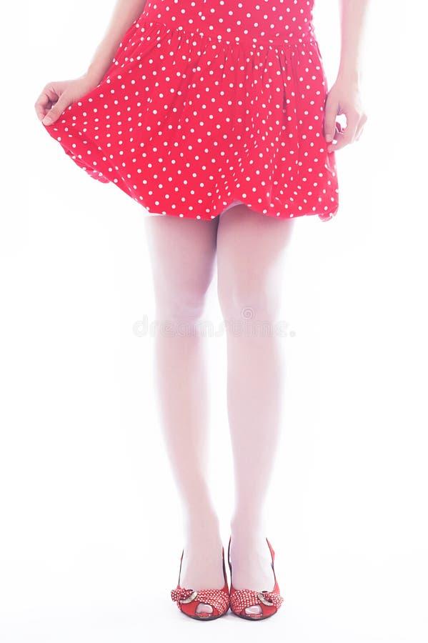 młode, piękne nogi obraz stock