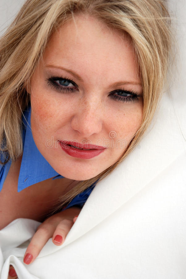 młode pieg blond kobiety obraz royalty free