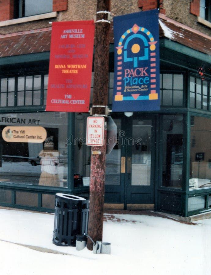 Młodego Człowieka instytut, YMI Asheville, NC 28801 obrazy stock