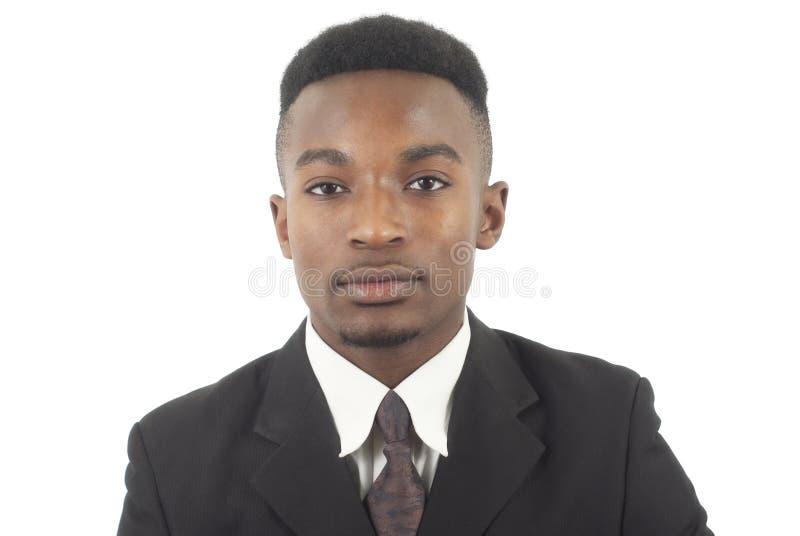 Młodego człowieka portret jest ubranym kostium i krawat obrazy stock