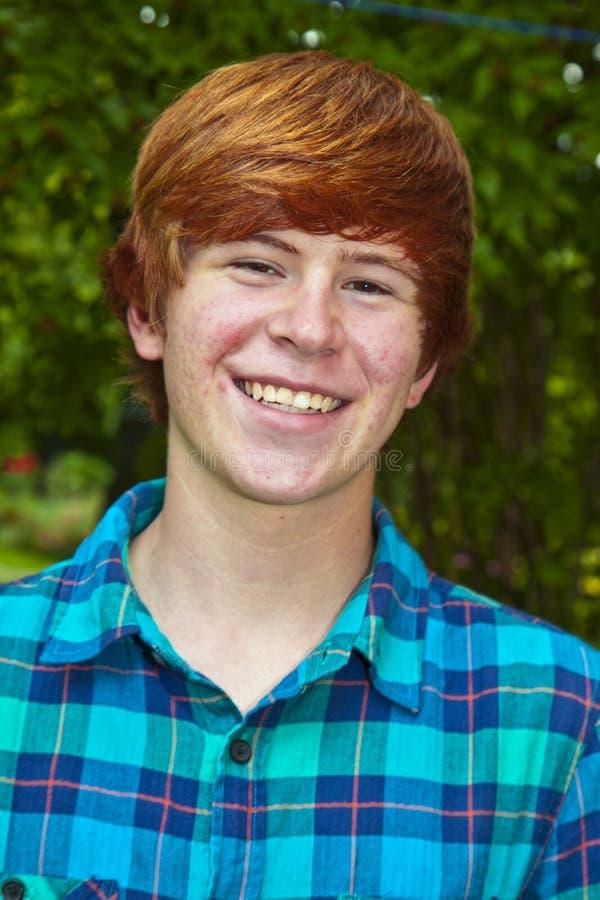 Młodego człowieka przypadkowy portret zdjęcia stock