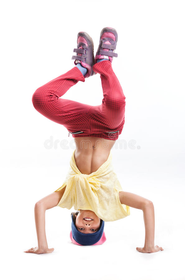 Młodej dziewczyny przerwy tancerz zdjęcia royalty free