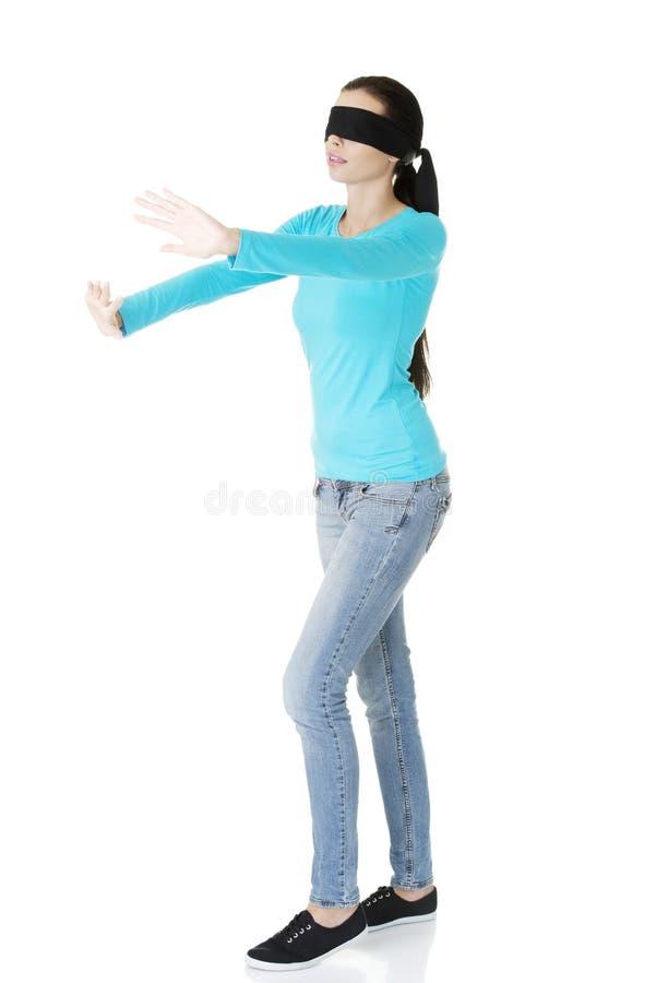 Młodej kobiety opaska zdjęcie royalty free