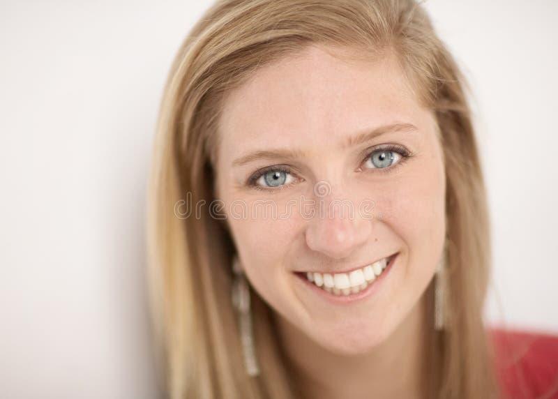 Młodej kobiety twarz zdjęcia royalty free