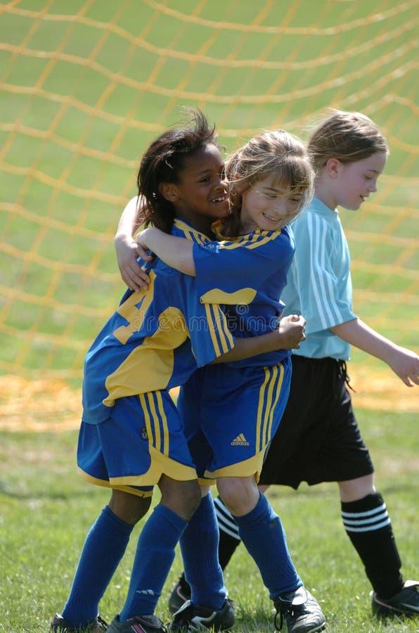 Młodość gracz piłki nożnej obraz stock